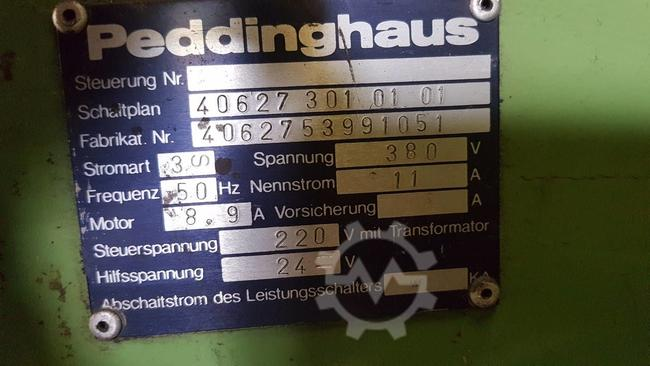 Peddinghaus Peddiworker 800 Shear used machine for sale
