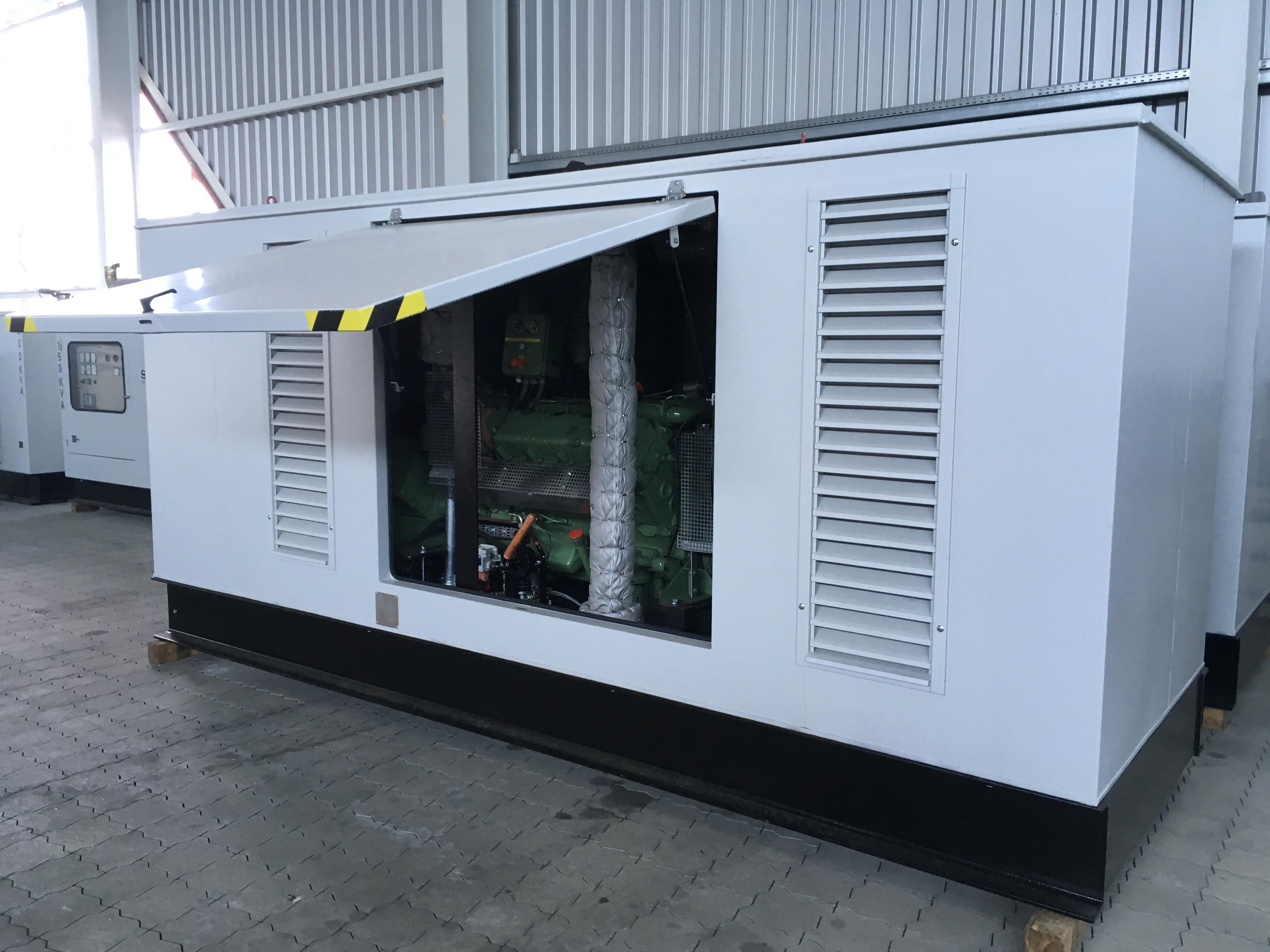 SAB A63R 200 kVA Diesel generators used machine for sale