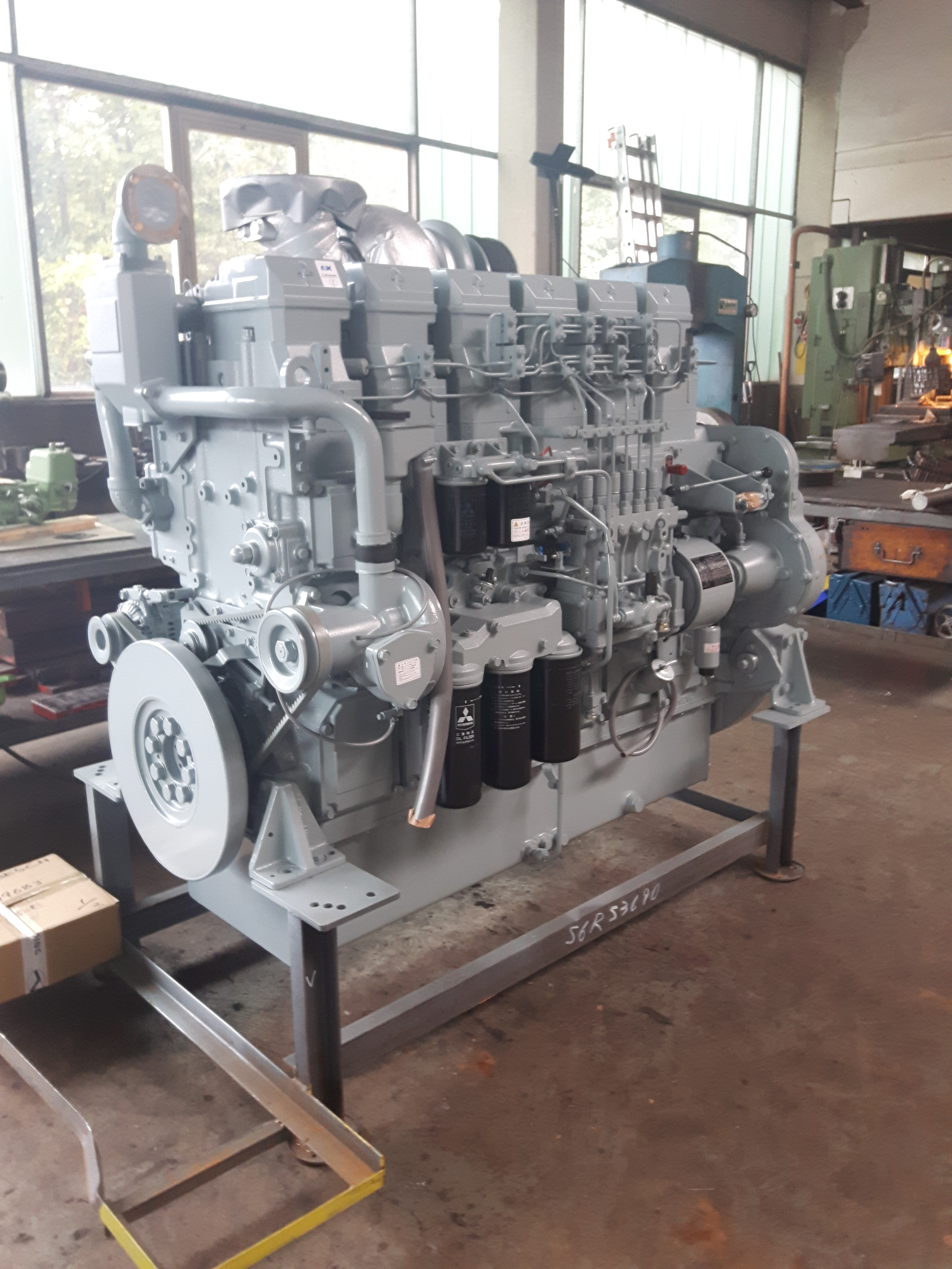Mitsubishi S6R2 Diesel engines used machine for sale
