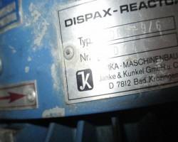 Dispersion Unit JKA DISPAX – REACTOR  DR 3 – 9 /