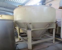 Pneumatic Conveyor Vessel 2.000 l. FRANK 21149