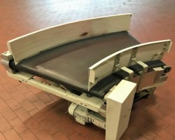 Conveyor belt conveyor curve 45° Transnorm TS 1500-100