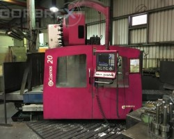 CNC Horizontal Milling Machine LAGUN Model G Cosmo LAGUN G Cosmos 20 year 2004