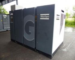 Rotary screw air compressor ATLAS COPCO GA 132 VSD