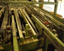 stacking machine SPRINGER Drehzunge