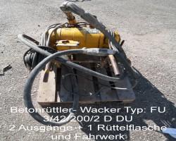 concrete vibrator WACKER