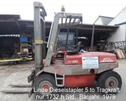 Diesel forklift trucks LINDE H 50