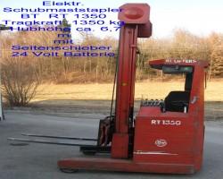 Electric forklift trucks  RT 1350