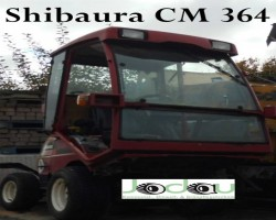 Large area mowers SHIBAURA CM 364