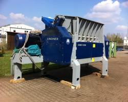 Single shaft shredders LINDNER Komet 2200