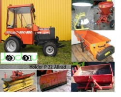Compact tractors HOLDER P22 HA