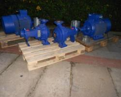 recirculation pump 138 sqm / h + FU KSB KSB ETANORM SIEMENS Etanorm