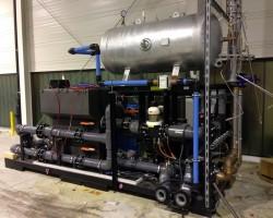 Refrigeration station Refrigerated water recooler LEYBOLD OPTICS