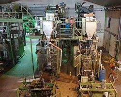 Packaging Line for Potting Soil, Mulch and Substrata