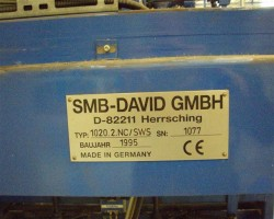millingstation foam SMB-DAVID 1020.2.NC