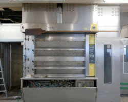 Deck Baking Oven with Gas burner MIWE ideal 1500/4 DS-ZK 2kreiser