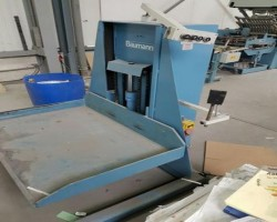 Further processing machines A200 BAUMANN NUP 650 O