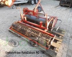 reverse soil tiller ROTA DAIRON RD 130