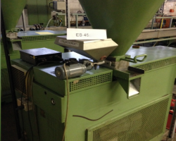 Single screw-type extruding machine WEBER ES45