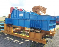 Vibrating screening machines (1-deck) SCHAUENBURG MAB Dewatering screen 1646