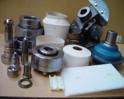 Spare parts N.M. HEILIG B.V. conical mixers V-Mix, Nauta, Vrieco