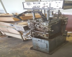 Wire bending machines WAFIOS FM8 Spring Coiler