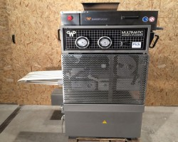 Knitting machines for dough pieces WP MUC 5-reihig