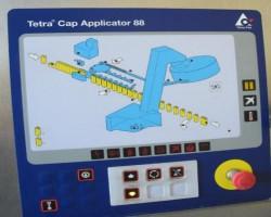 Cup filling machines and sealing machines TETRA PAK TETRA CAP APPLICATOR 88