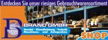 Gebrauchtmaschinenhändler Brand GmbH