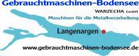 Gebrauchtmaschinenhändler Warzecha  GmbH - Gebrauchtmaschinen Bodensee