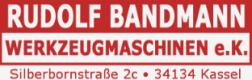 Gebrauchtmaschinenhändler RUDOLF BANDMANN WERKZEUGMASCHINEN e.K.
