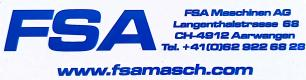Gebrauchtmaschinenhändler FSA Maschinen und Handels AG