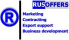 Gebrauchtmaschinenhändler RUSOFFERS Co.